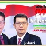 Didukung Koalisi Besar, Pasangan Ical-Johari Menguat
