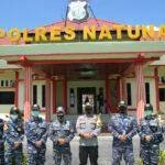 Wakapolres Natuna Terima Kunjungan Silaturahmi Taruna-Taruni AAL Angkatan ke-67