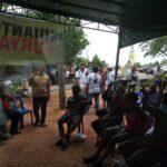 Datang ke Sei Nyirih, Warga: Cuma Cagub Kepri Datang Lewat Jalur Laut