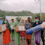 Bantuan Terus Mengalir Penjuru Negeri Kini Ketum Dharma Pertiwi Salurkan Bagi Masyarakat Mamuju