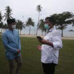 Bersama Walikota Batam, Menparekraf Sandiaga Kenalkan Pulau Putri Wisata Terkini