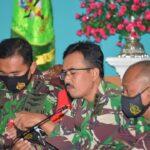Bupati Bersama Unsur TNI dan Polri Gugus tugas Gelar Rakor Persiapan Vaksinasi Covid-19 Natuna