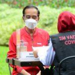 Hari ini Presiden Jokowi Terima Suntikan Dosis Kedua Vaksin Covid-19