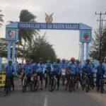 Jaga Kebugaran, Danlanud RSA Ranai Ajak FKPD Natuna Gowes