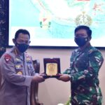 Hari ini Panglima TNI Terima Silaturahmi Kapolri Listyo Sigit Prabowo Di Mabes TNI