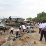 Lanal Dumai Wujudkan Kampung Bahari Nusantara