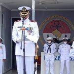 Merangkum Sejarah Heroisme Petempuran Laut, Lanal Ranai Ikut Upacara Hari Dharma Samudra Di Posal Penagi