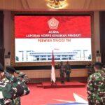 Panglima TNI Terima Laporan Kenaikan Pangkat Pati TNI, Ini Daftar Namanya