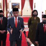 Presiden RI Jokowi Lantik Anggota Dewan Pengawas Lembaga Pengelola Investasi