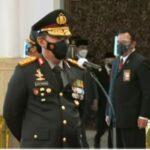 SAH Presiden Joko Widodo Resmi Lantik Kapolri Listyo Sigit Prabowo