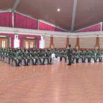 Siswa Dikma Pa PK TNI Khusus Tenaga Kesehatan Terima Pembekalan
