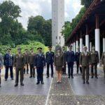 Tiga Pamen TNI Ikut Pendidikan Sesko di Singapura