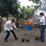 Dirnarkoba Polda Banten Hadiri Pemusnahan Barang Bukti Narkotika di BNNP Banten