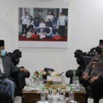 Silaturahmi Bersama Ketua MUI Sulsel, Kapolri: Dukungan Ulama Sangat Penting