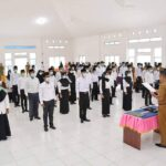 45 Anggota BPD se-Kecamatan Pulau Tiga dan Pulau Tiga Barat di Lantik