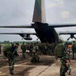 Empat pesawat TNI AU dukung Serpas Satgas Penyangga Perbatasan RI-PNG