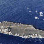 Kapal Induk USS Nimitz Lintasi Selat Malaka Menuju Laut Cina Selatan