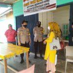 Kapolsek Bunguran Timur Pantau Pembentukan PPKM Wilayah Kelurahan Ranai Kota