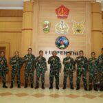 Kasum TNI Letjen TNI Ganip Warsito Kunjungi Pusat Penerangan TNI