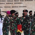 Panglima TNISerahkanJabatan Kasumdan Pimpin Sertijab Kababek serta Kapusinformar
