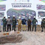 Pembangunan Taman Bermain Masyarakat Pulau Dompak Bersama SKK MIGAS, MEDCO E&P Dan POI