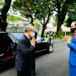 Bahas ini, Presiden RI Sambut Kunjungan Resmi PM Malaysia Ke Istana Merdeka