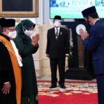 Presiden Jokowi Saksikan Pengucapan Sumpah Wakil Ketua MA Bidang Yudisial