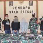 Sweeping Kendaraan, TNI Berhasil Amankan Pelaku Pembawa Narkoba