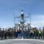 TNI AL Peduli Dan Berbagi Daerah Operasi Laut Natuna