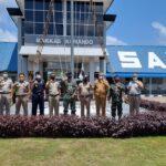 Danlanal Sabang Kolonel Laut Agus Darmawan Terima Sertifikat Tanah Dari Kakanwil BPN Banda Aceh