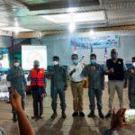 Jendral Bintang Satu Dari Bakamla Kukuhkan Rapala Natuna