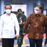 Kunker ke DIY dan Jateng, Presiden Jokowi Tinjau Vaksinasi Massal
