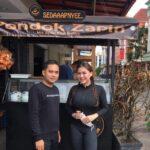 Dukung UMKM, Vicky Shu kunjungi Mie Ayam Zapin yang Lagi Tren Di Kota Batam
