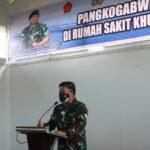 Pangkogabwilhan I Laksdya TNI I Nyoman Gede Ariawan Berbagi Peduli diRSKI