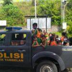 Polisi Sahabat Anak, murid TK Kandil Bahar kunjungi Mapolsek Tambelan