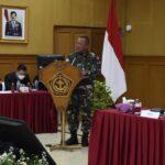 Rakornispen TNI dan Kebijakan Panglima TNI tahun 2021