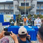TNI AL Berhasil Gagalkan Penyeludupan Narkoba 4 Kilo Dari Malaysia