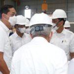 Walikota Batam Rudi Dampingi Menko Marves Luhut B Pandjaitan Resmikan Pabrik Pengolahan Limbah