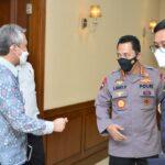 Dirjen Bea Cukai Gelar Pertemuan Bersama Kapolri, Singgung soal PNBP