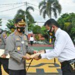 Disayang Masyarakat, Bripka Zulham Dapat Penghargaan Dari Kapolres