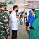 Atas Nama Negara Joko Widodo Siap Bangun Rumah dan Pendidikan Keluarga Nanggala 402