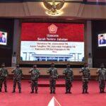 Panglima TNI Pimpin Penyerahan Jabatan Dansesko dan Sejumlah Pejabat Militer