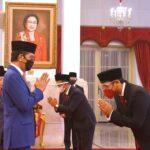 Inilah Sumpah Setia Menteri Investasi, Mendikbudristek, dan Kepala BRIN Untuk Indonesia