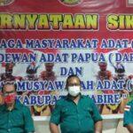 Lembaga Adat Papua Desak Pemerintah, KKB Ditetapkan Sebagai Organisasi Teroris