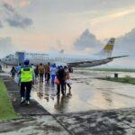 Panglima TNIKerahkanTiga Boeing 737UntukTabur Bunga di Laut Bali