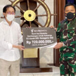 Perusahaan Sindo Muncul Salurkan Bantuan Bagi Keluarga 53 awak Nanggala 402