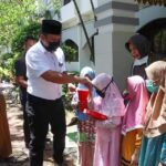 Sambut Ramadhan 1442 H, DLH Batam Gelar Tausyah dan Santunan Berkah