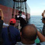 Bakamla RI Pantau MT Horse dan MT Freya Keluar Pelabuhan Batam Wilayah Indonesia