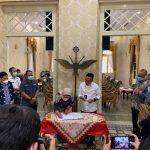 KPK Serahkan Bekas Gedung RS Milik Koruptor ke Pemkab Indramayu Akan di Jadikan Tempat Karantina Covid 19