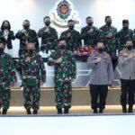 Panglima TNIdan Kapolri Tinjau Fasilitas Pendidikan Sesko TNI